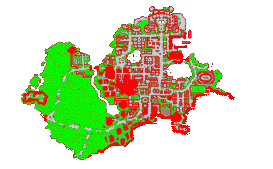 Map of Zezenia city Ellaria